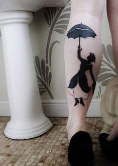 Marry Poppins tattoo