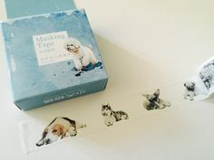 Dogs Boxed Washi Tape by GoatGirlMH on Etsy
