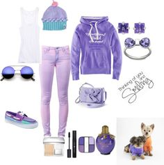 """Purple winter"" by suntanbabe on Polyvore"