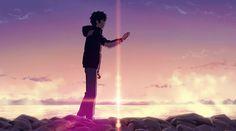 Anime: Kimi no Na wa.  #anime #animegif #gif