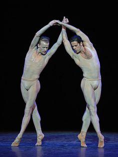 Denis Matvienko and Marcelo Gomes in Morel et Saint-Loup © Dave Morgan.