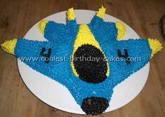 cool airplane cake