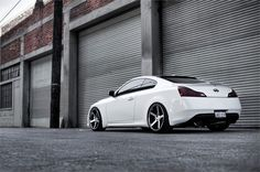 Infiniti G37S on Stance SC-5ive Black Machined Photos - Media - Stance Wheels