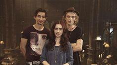 Simon, Clary, and Jace ♥