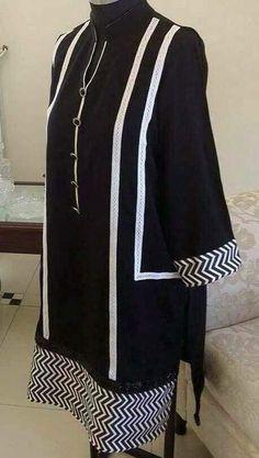 use this design for making suit with bunto kamzi wala dupatta Pakistani Fashion Casual, Pakistani Dresses Casual, Pakistani Dress Design, Sleeves Designs For Dresses, Dress Neck Designs, Blouse Designs, Kurtha Designs, Neckline Designs, Fancy Dress Design