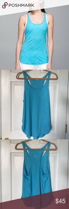 Final Price Lululemon What The Sport Singlet Blue Blue what the sport Singlet from lululemon. Worn a few times nothing noticeable. Hard to find. Make me an offer! lululemon athletica Tops Tank Tops