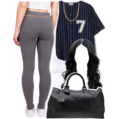 Hol up by kiaratee on Polyvore featuring polyvore fashion style Chanel Fremada