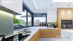 "Villa ""Palma"" | Plans | Проекти будинків Kitchen Room Design, Home Decor Kitchen, Kitchen Interior, Home Interior Design, Design Case, Küchen Design, House Design Pictures, Beautiful House Plans, Model House Plan"