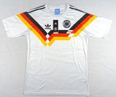 b6b739b4d8d Buy 1990 West Germany Retro Home Soccer Jersey Shirt for Custom