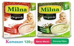 Milna bubur bayi organik, MPASI terbaik untuk si kecil memiliki kandungan yang bagus untuk pertumbuhan bayi, karena Milna merupakan bubur bayi organik pertama di indonesia yang tinggi zat besi, protein, serat, omega 3, omega 6, 12 Vitamin dan 8 Mineral.
