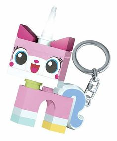 Another great find on #zulily! Unikitty LEGO Movie LED Key Chain Light #zulilyfinds