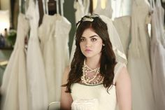 "Pretty Little Liars Season 4 Episode 23 Wedding Photos: ""Unbridled"" Aria"