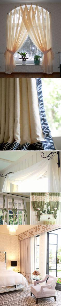 35 идей для оформления окна шторами (фото)