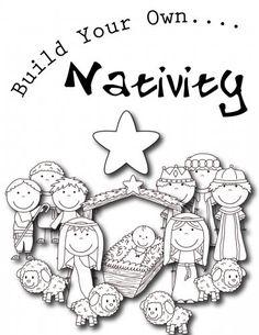 Build Your Own Nativity Scene