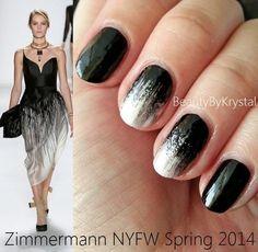NYFW Zimmermann Inspired Nails- bellashoot.com