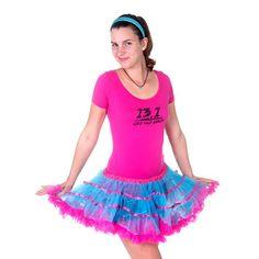 Running Tutu-Blue/Pink by MilestonesJewelry on Etsy #RunDisney #RunningMom #FunRuns