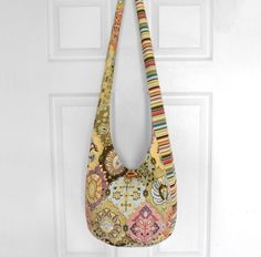Hobo Bag Crossbody Bag Sling Bag Hippie Purse Boho by 2LeftHandz