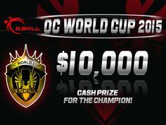 """G.SKill ha annunciato la 2° edizione dell' """"OC World Cup 2015"""" annuale competizione lanciata per la prima volta nel 2014 con lo scopo di sostenere e diffondere l' overclock."""