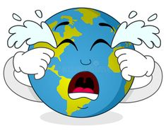 Illustration about A sad cartoon earth character crying, isolated on white background. Eps file available. Illustration of planet, funny, global - 49258094 Cartoon Cartoon, Cartoon Characters, Earth Logo, Map Earth, Save Water Poster Drawing, Save Earth Drawing, Save Earth Posters, Planet Crafts, Earth Drawings