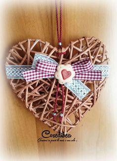 cuore con biscotto