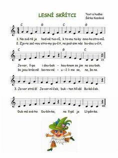 Music For Kids, Kids Songs, Fall Preschool, Preschool Activities, Piano Music, Sheet Music, G 1, Music Class, Dinosaur Party