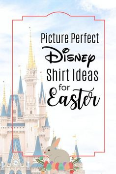 The most adorable Disney Shirts for Easter...  Disney Vacation - Disney Tips - Disney Planning _ Disney Easter - Easter at Disney World