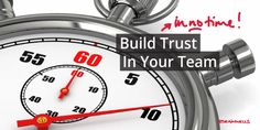 Build Trust in Your Team in No Time! #Brainwells #Leadership #Facilitation