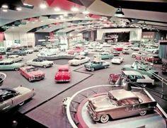 1950s car showroom!