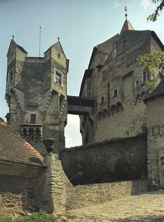 Pernštejn Castle, Czech Republic.