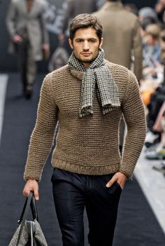 MADE TO ORDER men's Turtleneck Sweater v-neck men crewneck hand knitted sweater cardigan pullover men clothing handmade men knitting cabled Mens Fashion Sweaters, Sweater Fashion, Men Sweater, Crewneck Sweater, Sweater Scarf, Knit Cardigan, Grey Scarf, Cropped Sweater, Scarf Hat