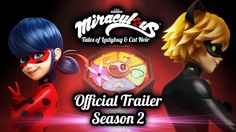 MIRACULOUS | OFFICIAL TRAILER SEASON 2 | Tales of Ladybug and Cat Noir