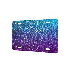 SOLD License Plate Cover Mosaic Sparkley Texture! #Zazzle #license #plate #cover #mosaic #sparkley #texture http://www.zazzle.com/license_plate_cover_mosaic_sparkley_texture_liquidcouragelicenseplatecover-256735130176464806