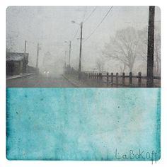 Fine Art Print  Landscape Photography & Painting  aqua by labokoff, $30.00