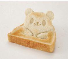 Pop Up Character Bread ~ Panda, Frog and Bear