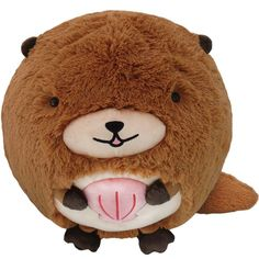 It's the Squishable Sea Otter! Nichole B.'s adorable winning Open Squish design is now ready for your hugs! #squishable #plush #otter