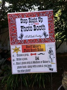 western theme Graduation/End of School Party Ideas | Photo 2 of 11 | Catch My Party