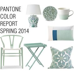 Pantone Color Report Spring 2014 - Hemlock  Love this for the bedroom!