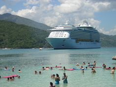 Mariner of the seas moored off Labadee in Haiti...One of my favourite holiday snaps, and many happy memories from 2005.
