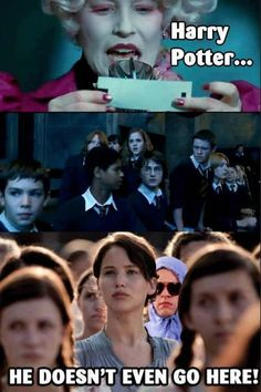 A Harry Potter Meme/ Hunger Games/ Mean Girls