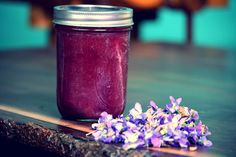 Violet Jam.. if they are still out when I get home I will be making this.