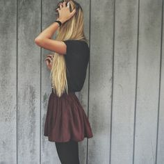 Skater skirts. Longer though.