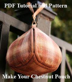 Patrón de costura de bolsa castaño PDF por LYPatterns en Etsy