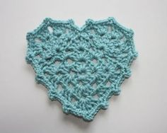 #Crochet #Heart Pattern Round Up. 10 free heart patterns. 12 patterns total.