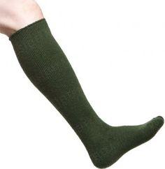 Woolpower Socks Knee-high 600, vihreät - Varusteleka.fi