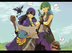 Abel and Henry - Dragon Quest V