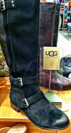 Buckle up and get ready for the day in these stylish UGG tall riding boots #scheels #fashion