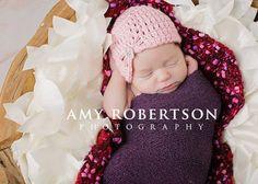 Baby Hat Newborn Hat Soft Pink Jewel Flapper by LittleLovesDesigns