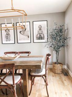 Dining Room Wall Decor, Dining Room Design, Dining Rooms, Dining Area, Dining Room Inspiration, Home Living Room, Studio Mcgee, Olive Tree, Ali