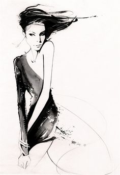 Fashion Illustration & Textiles:  Nuno Da Costa