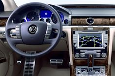 2011 Volkswagen Phaeton. 4.2l V8, AWD. (Also offered in a rare 5.0l V10 TDI and 6.0l W12) A very understated luxury car that got rather forgotten about, though probably one of the finest luxury cars of Germany. The underpinnings and 6.0l W12 engine of the Phaeton were later used in the Bentley Flying Spur models.